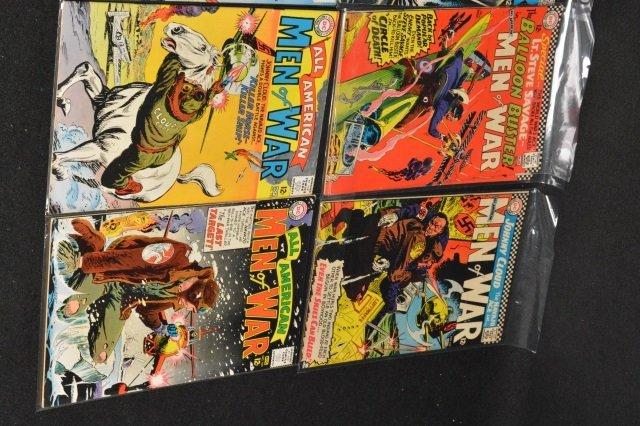 (29) All-American Men of War, DC Comics Silver Age - 3