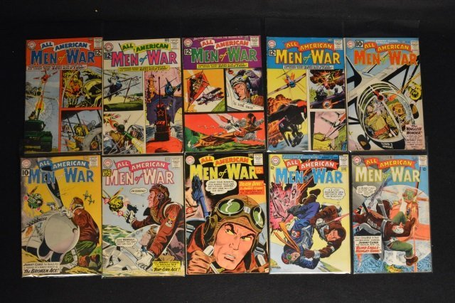 (29) All-American Men of War, DC Comics Silver Age - 4