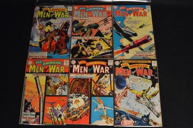 (29) All-American Men of War, DC Comics Silver Age - 5