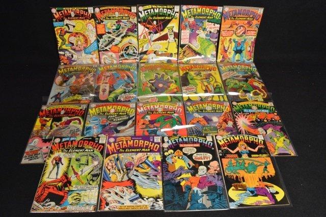(19) Metamorpho DC Comics Silver Age