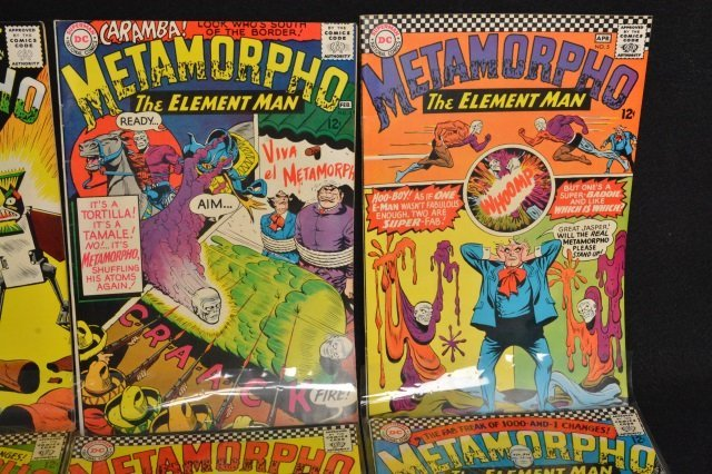 (19) Metamorpho DC Comics Silver Age - 3