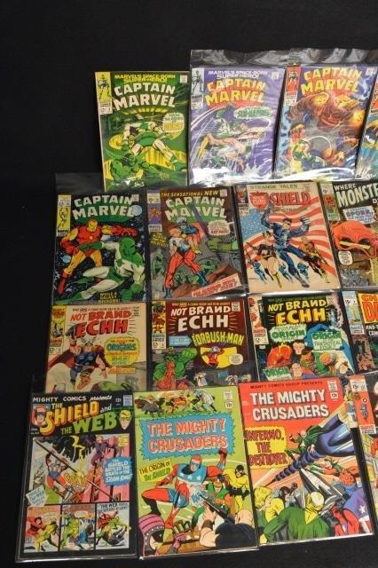 (23) Marvel Comics - Mixed Lot - 4