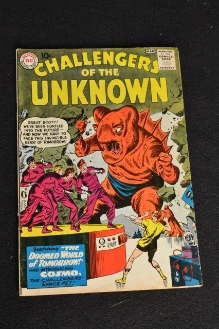 (19) Challengers of the Unknown, DC Comics - 2
