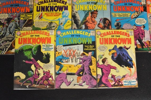(19) Challengers of the Unknown, DC Comics - 4
