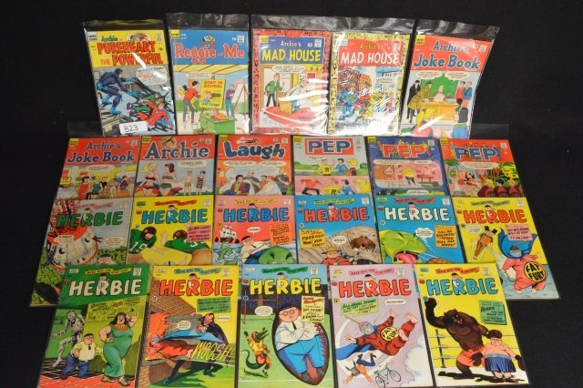 (11) Archie Series & Herbie Comics Silver Age