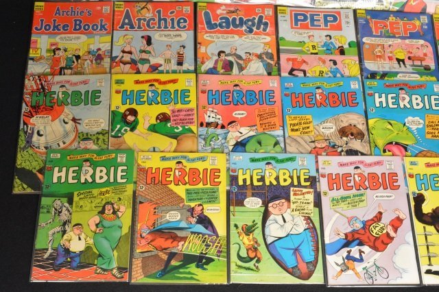 (11) Archie Series & Herbie Comics Silver Age - 3