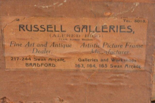 19th C. British landscape / Jose Weiss (1859-1919) oil - 7
