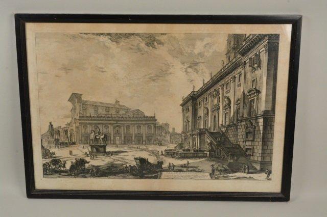 Veduta Della Piazza Del Campidoglio Artwork