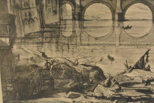 Veduta Del Ponte e Castello Sant' Angelo Art - 5