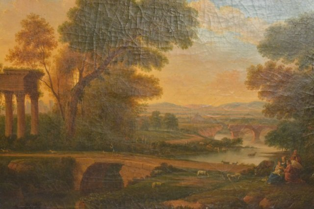 Landscape Oil on Canvas Painting - 3