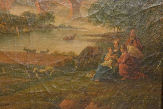 Landscape Oil on Canvas Painting - 4