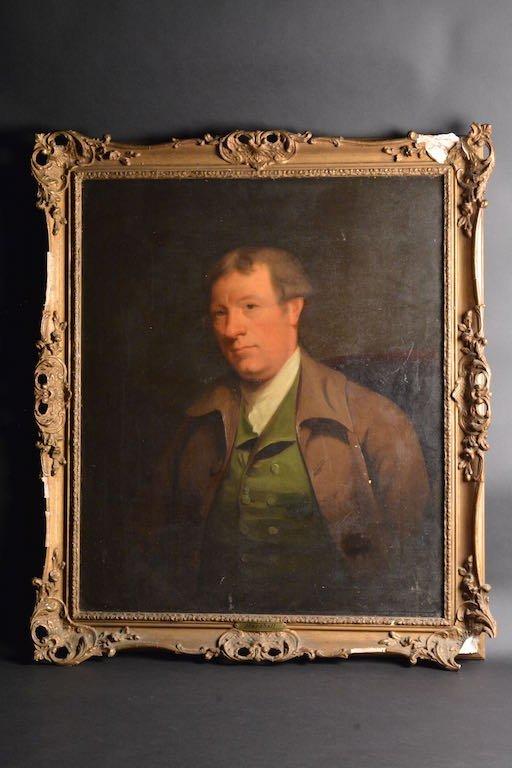 "18th C. oil, Portrait of a Gentleman ""Marshall"""
