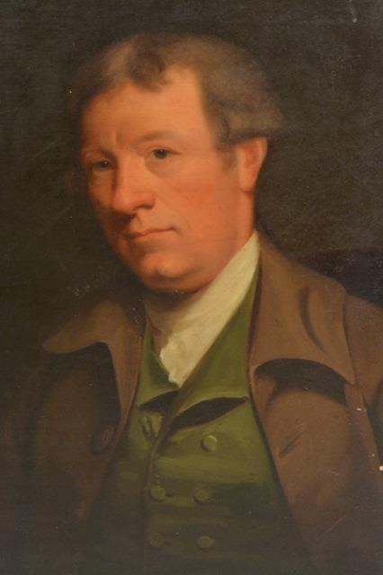 "18th C. oil, Portrait of a Gentleman ""Marshall"" - 2"