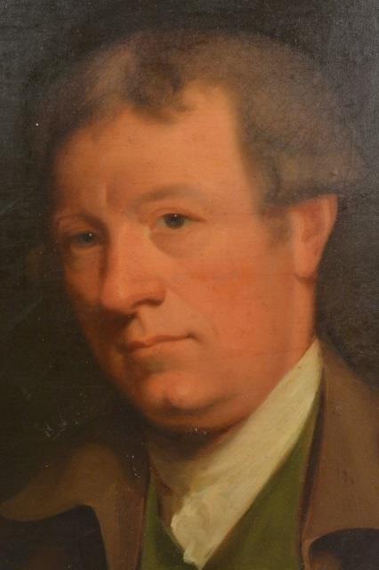 "18th C. oil, Portrait of a Gentleman ""Marshall"" - 3"
