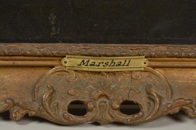 "18th C. oil, Portrait of a Gentleman ""Marshall"" - 5"