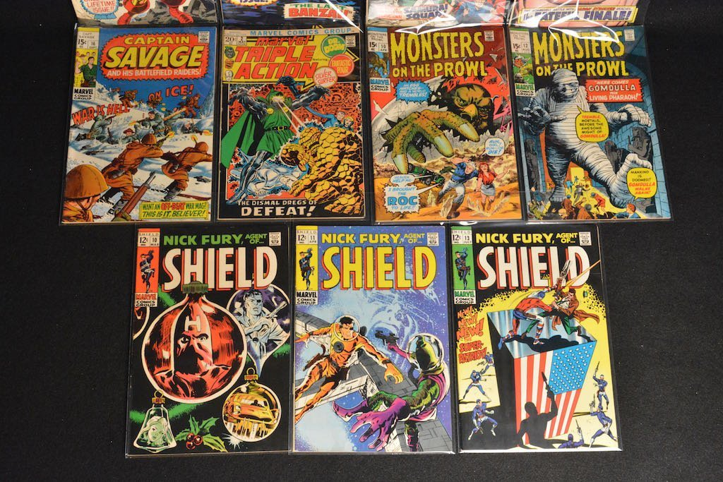 (11) Marvel Comic Books Silver Age - Mixed Lot - 2