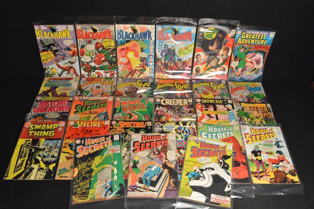 (27) DC Comics Silver Age Comic Books Mixed Lot