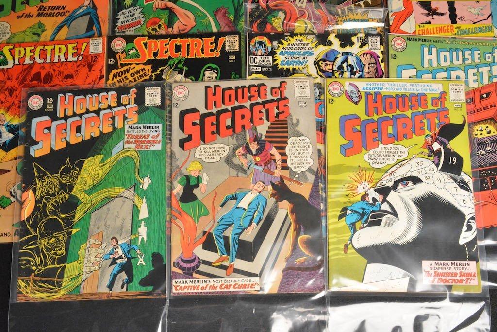 (27) DC Comics Silver Age Comic Books Mixed Lot - 3
