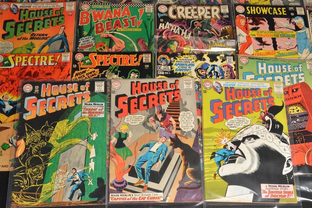 (27) DC Comics Silver Age Comic Books Mixed Lot - 4