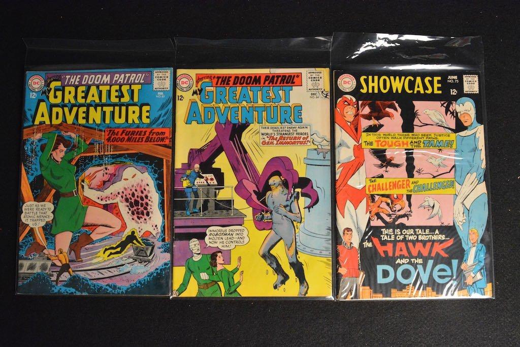 (27) DC Comics Silver Age Comic Books Mixed Lot - 6
