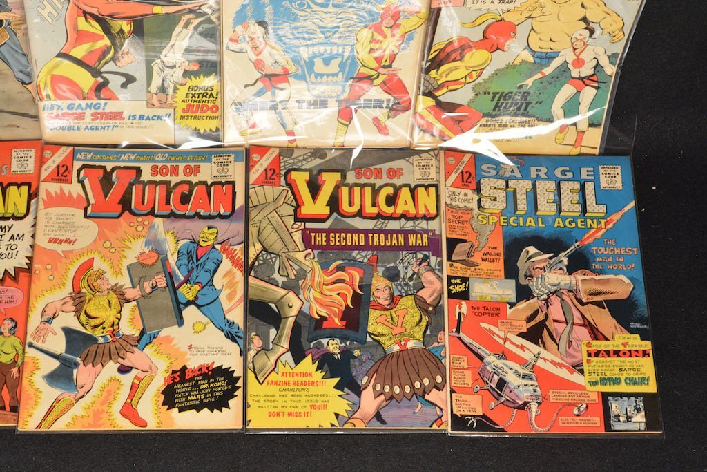 (33) CDC Comics Comic Books - Mixed Titles - 3