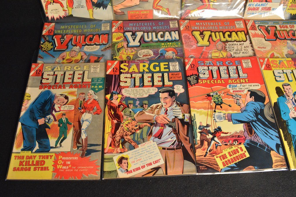 (33) CDC Comics Comic Books - Mixed Titles - 6