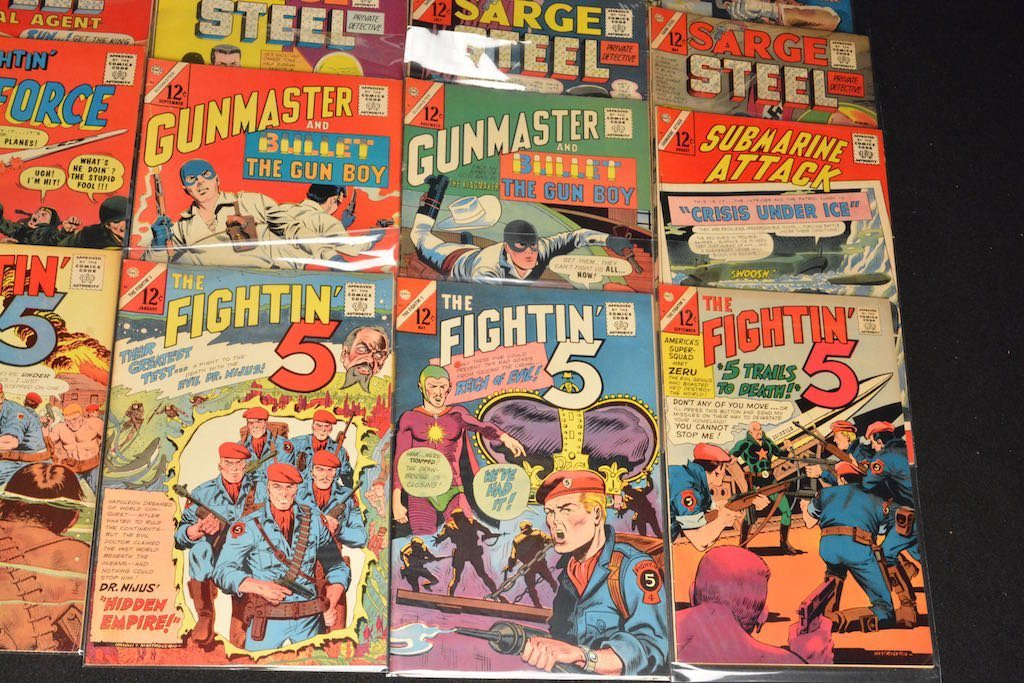(33) CDC Comics Comic Books - Mixed Titles - 9