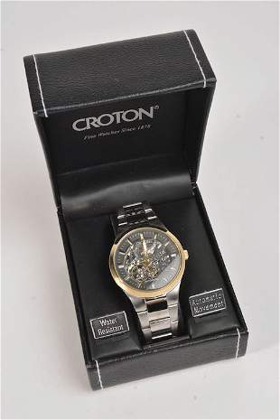 Croton Men\'s Automatic Movement Watch (NEW)