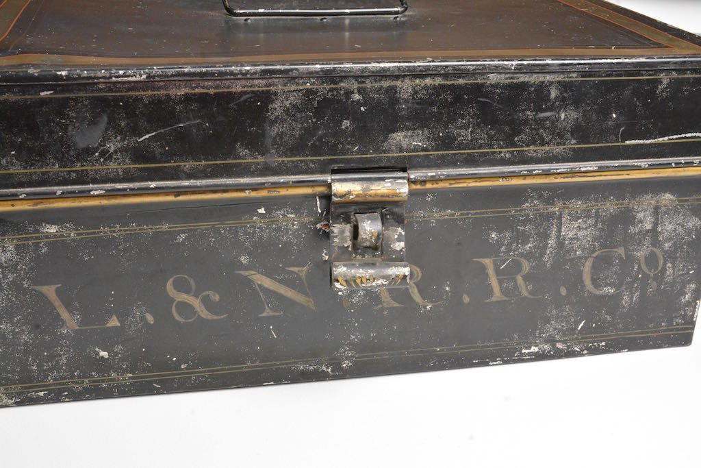 Early 1900's Louisville & Nashville RR Accounting Box - 2