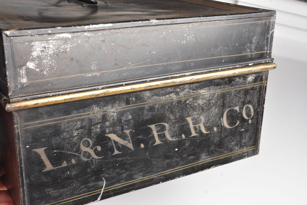 Early 1900's Louisville & Nashville RR Accounting Box - 3
