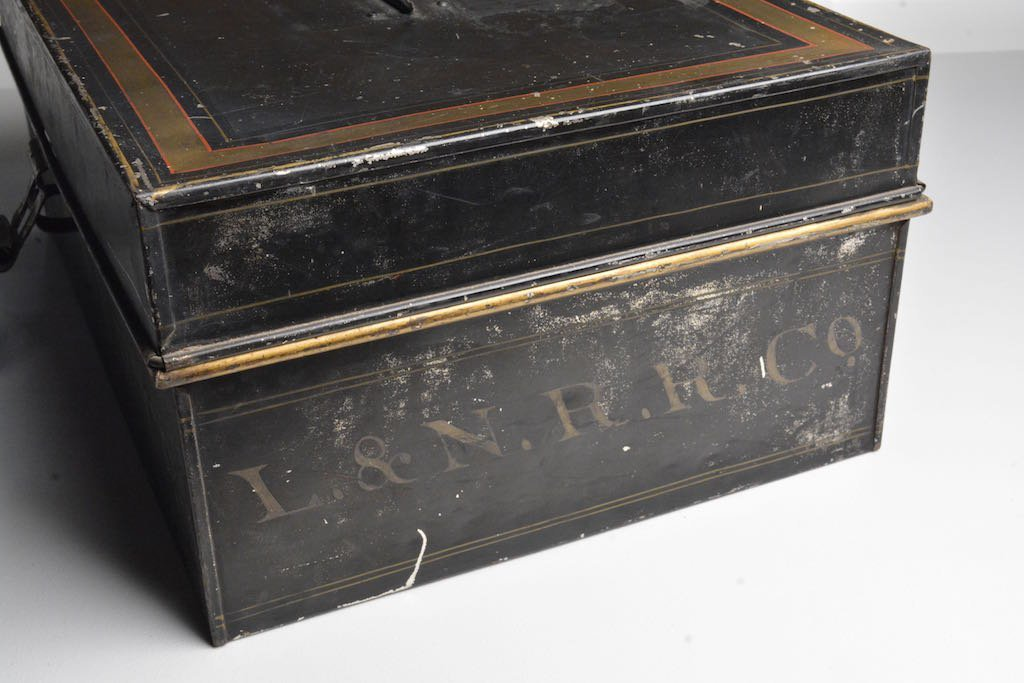 Early 1900's Louisville & Nashville RR Accounting Box - 4