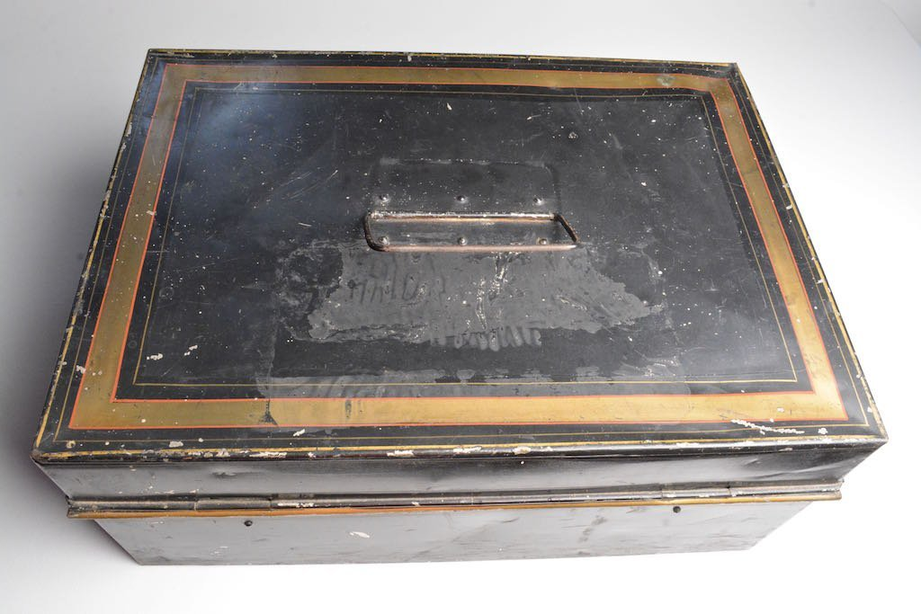 Early 1900's Louisville & Nashville RR Accounting Box - 5
