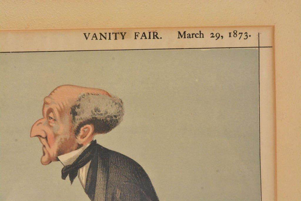 (2) Vanity Fair British Magazine Framed Caricatures - 4