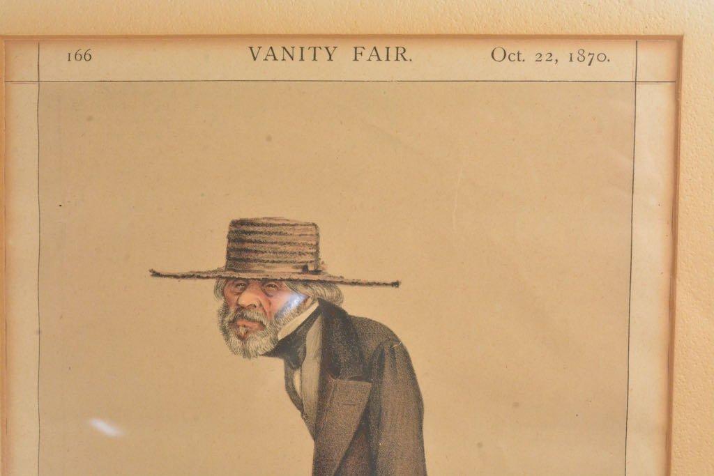 (2) Vanity Fair British Magazine Framed Caricatures - 5