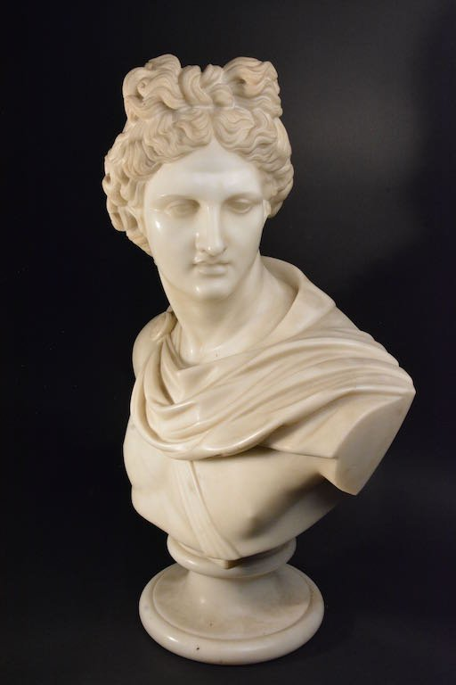 Victorian Marble Bust, Mid-19th Century - 2