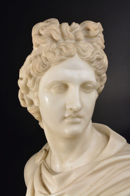 Victorian Marble Bust, Mid-19th Century - 4