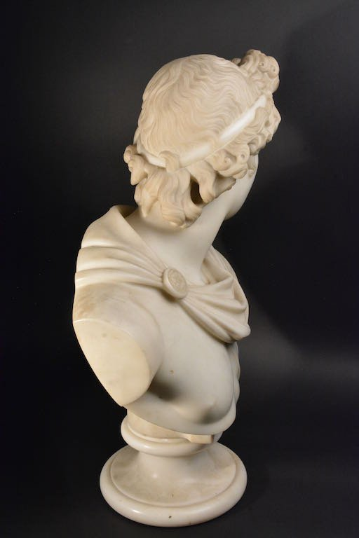Victorian Marble Bust, Mid-19th Century - 6