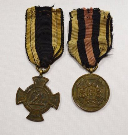 Germany Prussia Alsen Cross & Commemorative Cross