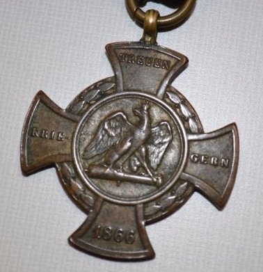 Germany Prussia Alsen Cross & Commemorative Cross - 2