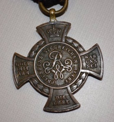 Germany Prussia Alsen Cross & Commemorative Cross - 3