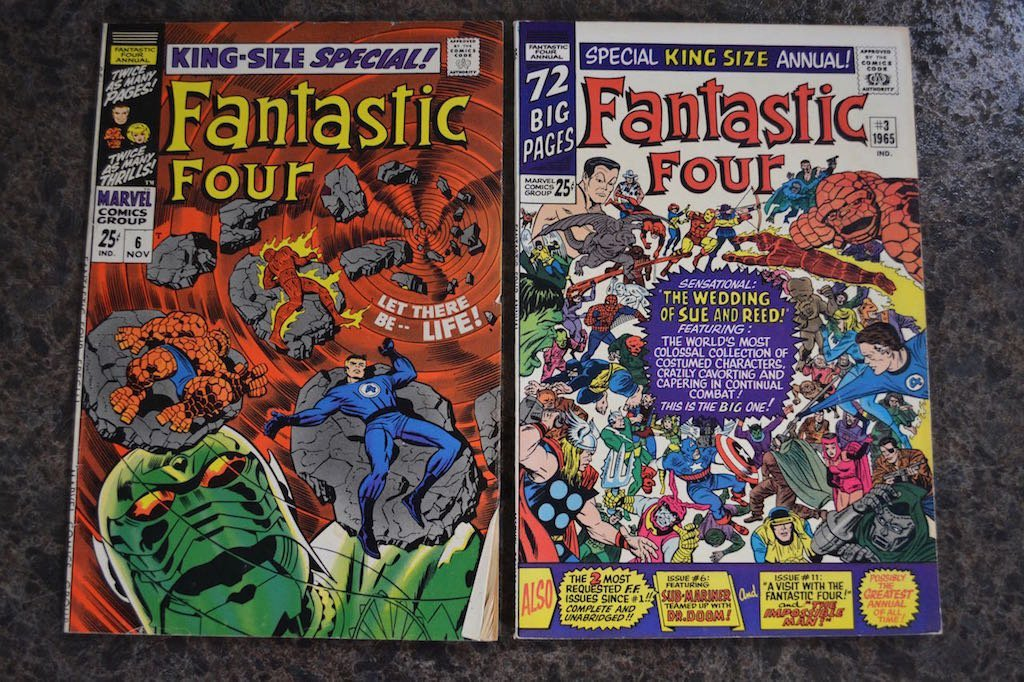 (4) Fantastic Four King Size Annual Marvel Comics - 4