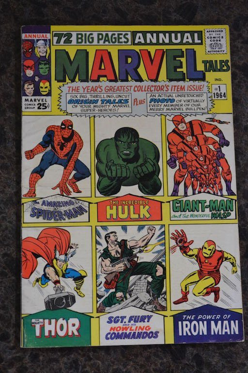 72 Big Pages Annual Marvel Tales No. 1 Comic Book