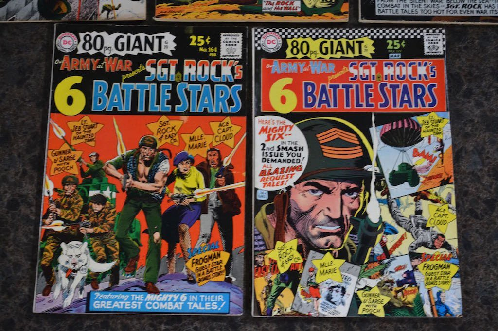 (5) Sgt. Rock D.C. Comic Books - 3
