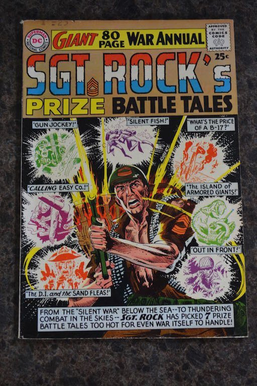 (5) Sgt. Rock D.C. Comic Books - 4