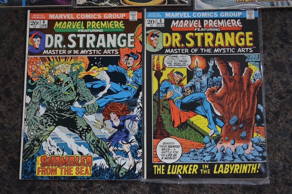 (5) Marvel Premiere Featuring Dr. Stange Comic Books - 3