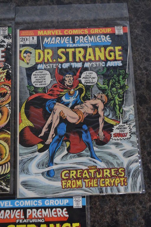 (5) Marvel Premiere Featuring Dr. Stange Comic Books - 4