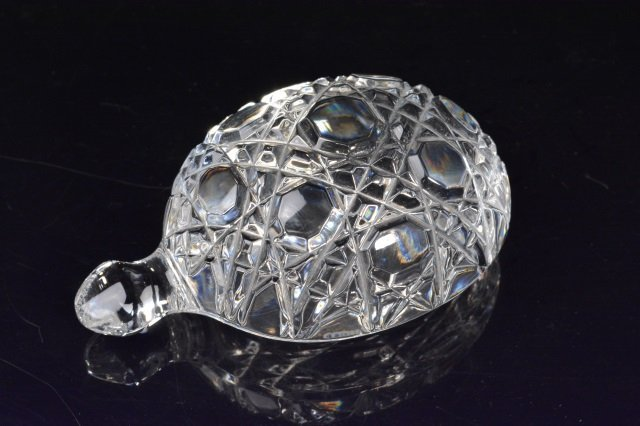 Waterford Crystal Turtle Paper Weight