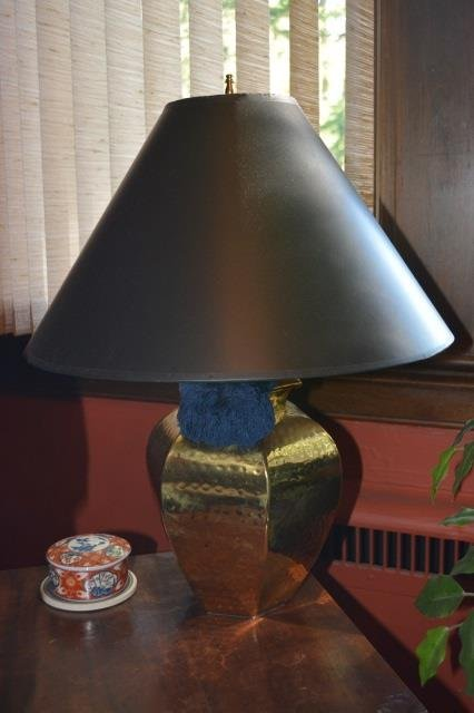 (2) Brass Table Lamps - 2