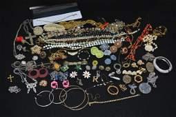 Vintage Costume Jewelry-some designer signed