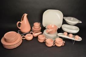 52 pc. Russel Wright Dinnerware Some Steubenville